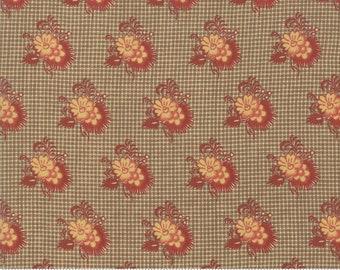 Sarah's Story 1830-1850, Saddle 31593 11 fabric designed by Betsy Chutchian for Moda Fabrics