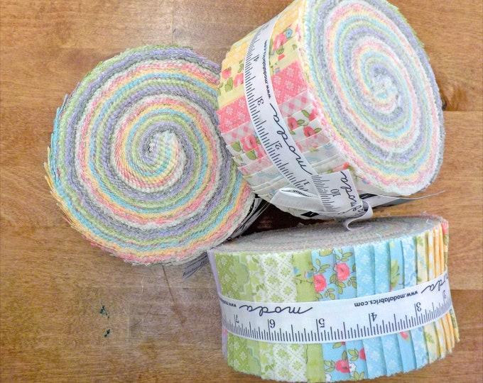 Finnegan Jelly Roll by Brenda Riddle Designs for Moda Fabrics