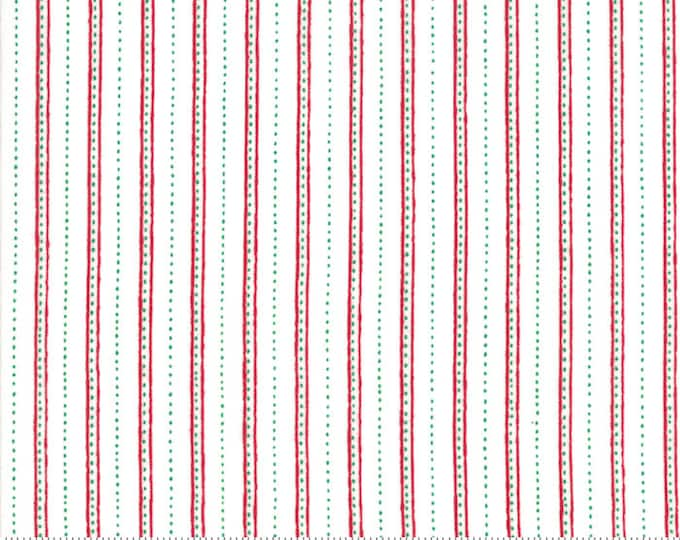 Merry Merry Snow Days Snow 2945 14 designed by Bunny Hill Designs for Moda Fabrics