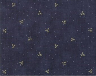 Memoirs Indigo 44218 18 by 3 Sisters for Moda Fabrics
