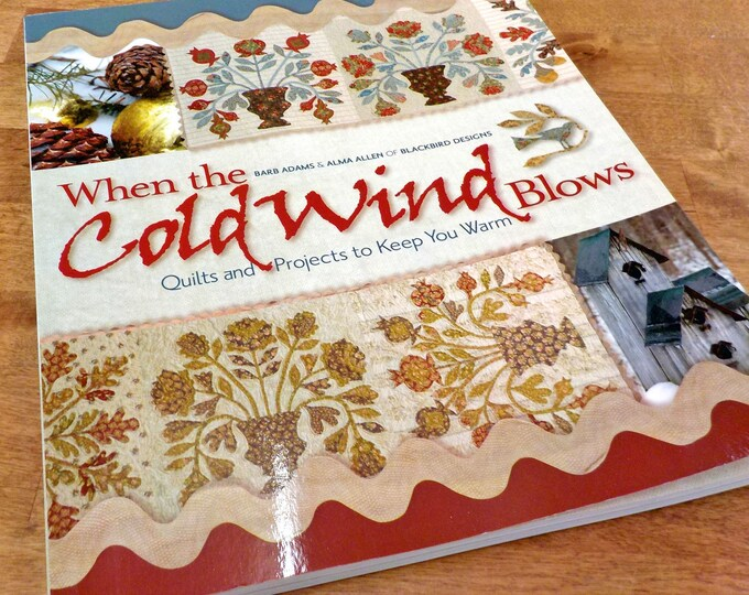 When the Cold Wind Blows by Barb Adams and Alma Allen of Blackbird Designs