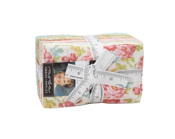 Bramble Cottage fat 8th bundle by Brenda Riddle Designs for Moda Fabrics...28 fat 8ths