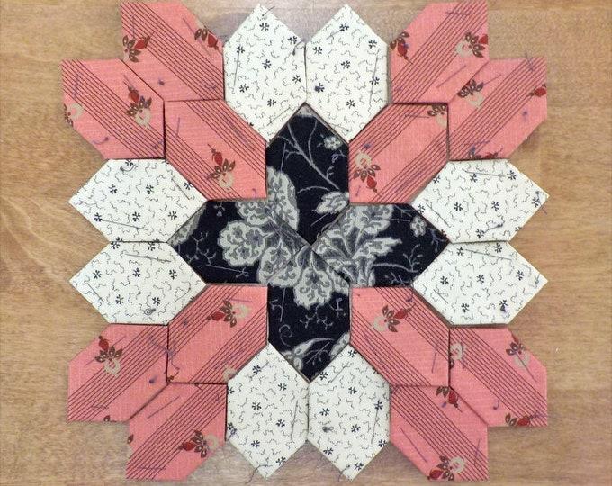 Lucy Boston Patchwork of the Crosses civil war block kit #39