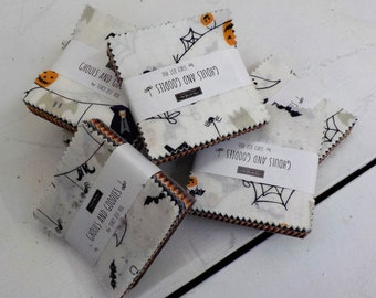 Ghouls and Goodies Mini Charm Packs  by Stacy Iest Hsu for Moda Fabrics