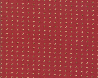 Glad Tidings Turkey Red 38095 21 by Jo Morton for Moda Fabrics