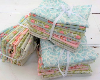 Bramble Cottage fat quarter bundle by Brenda Riddle Designs for Moda Fabrics...15 fat quarters, curated collection