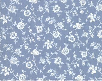 Trés Jolie Lawns Woad 13878 16LW by French General for Moda Fabrics