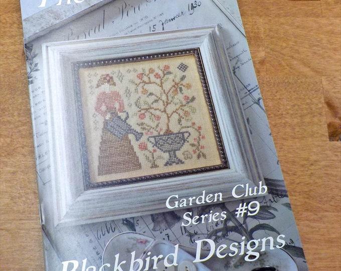 The Gardener, Garden Club Series #9, by Blackbird Designs...cross-stitch design