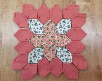 Lucy Boston Patchwork of the Crosses civil war block kit #44