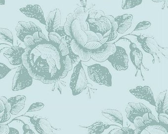 Old Rose Mary Teal TIL100207-V11...a Tilda Collection designed by Tone Finnanger