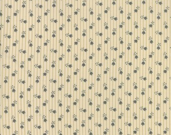 Jo's Shirtings Parchment Charcoal 38045 22 by Jo Morton for moda fabrics
