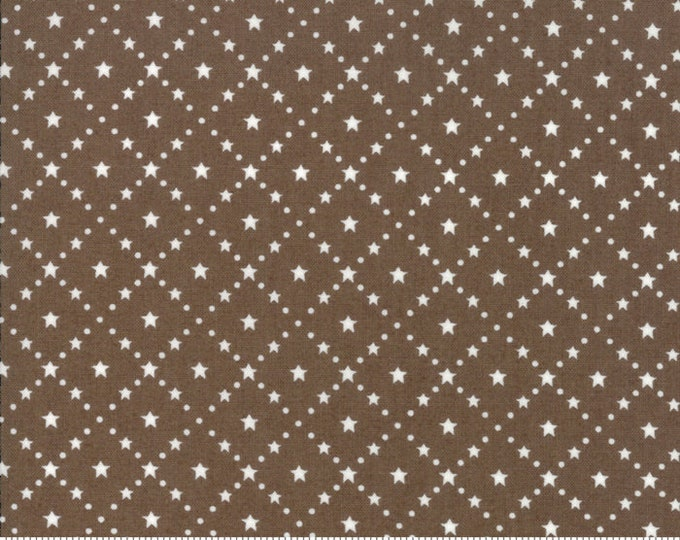Merry Merry Snow Days Taupe 2947 24 designed by Bunny Hill Designs for Moda Fabrics