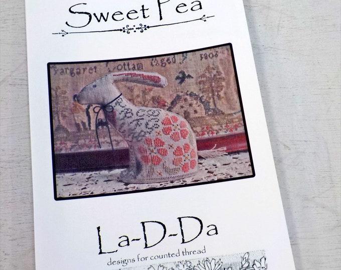 Sweet Pea by La-D-Da...cross stitch pattern