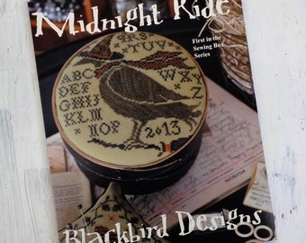 Midnight Ride, First in the Sewing Box Series by Blackbird Designs...cross-stitch design