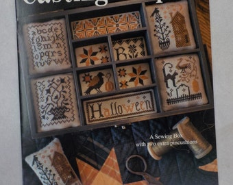 Casting a Spell, sewing box and two extra pincushions, by Blackbird Designs...cross-stitch design