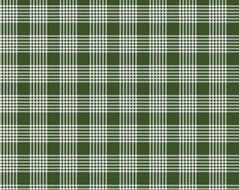 Yuletide Plaid Green C9635-GREEN by My Mind's Eye for Riley Blake Designs...christmas, classic christmas