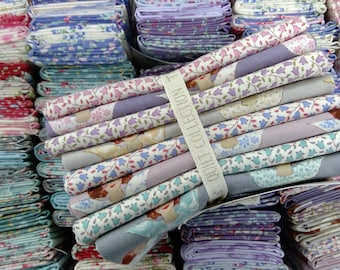 Old Rose Angel Scraps...8 fat quarters seasonal extras...a Tilda Collection designed by Tone Finnanger