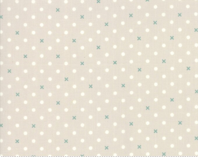 Bramble Cottage 18695-12 Pebble by Brenda Riddle Designs for Moda Fabrics