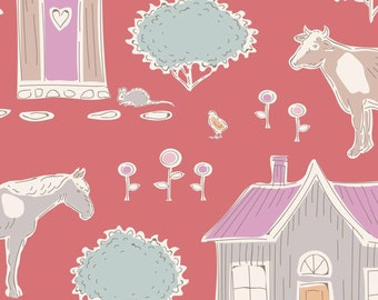 Tiny Farm Tiny Farm Rosehip TIL110019-V11...a Tilda Collection designed by Tone Finnanger