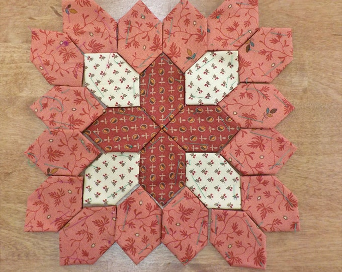 Lucy Boston Patchwork of the Crosses civil war block kit #53