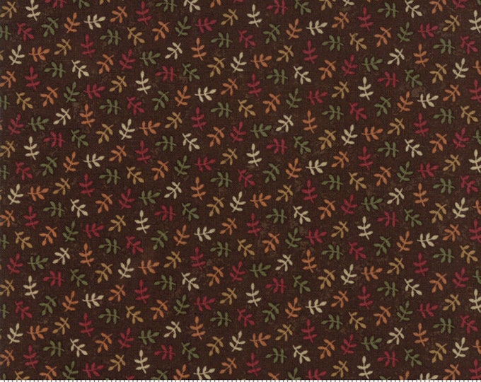 Nature's Glory Brown 9586 18 by Kansas Troubles for moda fabrics