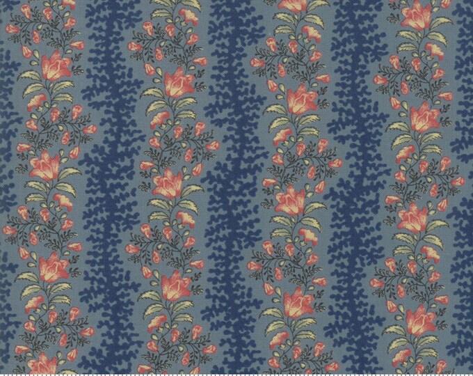 Sarah's Story 1830-1850, Indigo 31592 17 fabric designed by Betsy Chutchian for Moda Fabrics