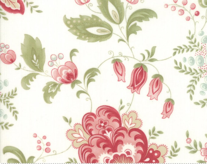 Porcelain Porcelain 44190 11 by 3 Sisters for moda fabrics