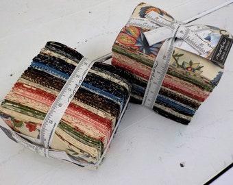 Elinor's Endeavor 1830-1910, factory bundle, 40 fat 8ths, fabric designed by Betsy Chutchian