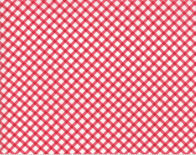 Good Tidings Berry Red 18665-11 by Brenda Riddle for moda fabrics