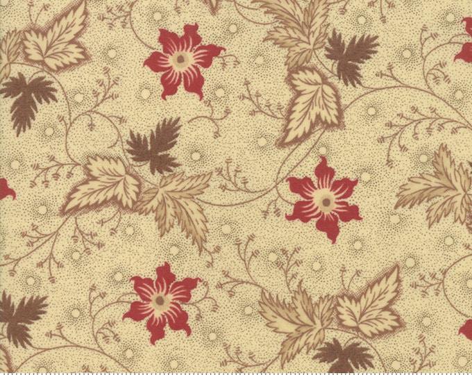 Harriet's Handwork 1820-1840 Biscuit 31570 11 by Betsy Chutchian for Moda Fabrics