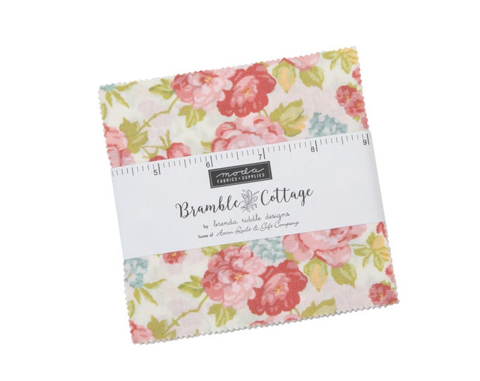 Bramble Cottage charm pack by Brenda Riddle Designs for Moda Fabrics