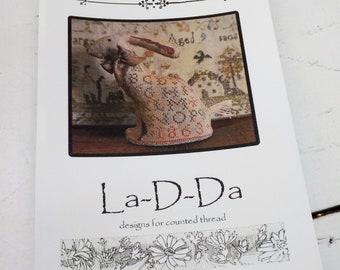Francis 1863 by La-D-Da...cross stitch pattern, easter pattern, easter cross stitch