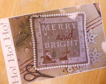 Ho! Ho! Ho! by Brenda Gervais of With Thy Needle & Thread...cross-stitch design