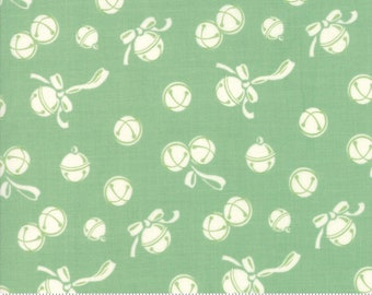 Deer Christmas Spearmint 31163 14 by Urban Chiks for Moda Fabrics