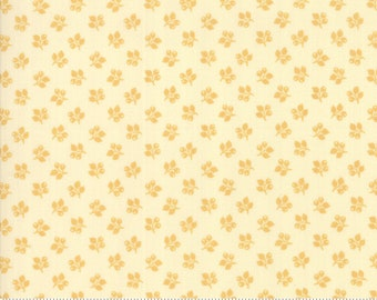 Sarah's Story 1830-1850, Cream Butter 31597 11 fabric designed by Betsy Chutchian for Moda Fabrics
