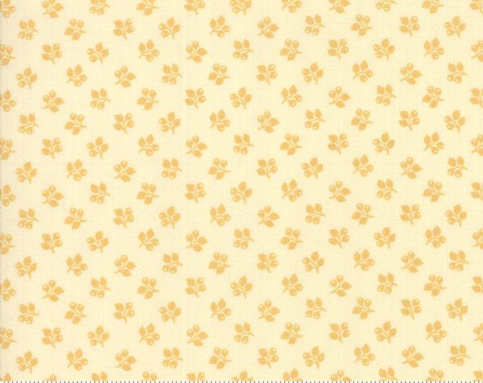 Sarah's Story 1830-1850, Cream Butter 31597 11 fabric designed by Betsy Chutchian for Moda Fabrics
