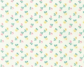 Vintage Ruru Marie Floral QGRU238015A by Quilt Gate for Robert Kaufman