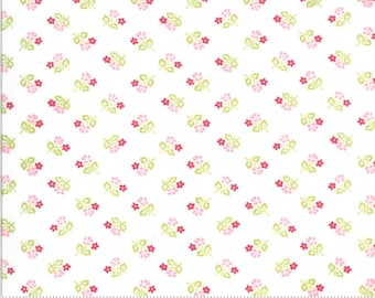 Sophie Small Floral Linen 18712 11 by Brenda Riddle for Moda Fabrics