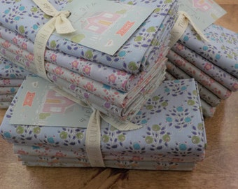Tiny Farm berries and flowers..a Tilda Collection designed by Tone Finnanger...5 fat quarters