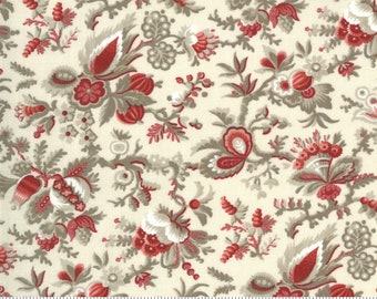 Jardin De Fleurs Pearl 13892 18 by French General for Moda Fabrics