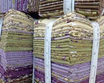 Sweet Violet fat quarter bundle designed by Jan Patek for Moda Fabrics