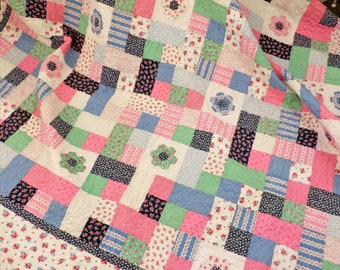 Hexie Stones quilt kit...pattern designed by Mickey Zimmer for Sweetwater Cotton Shoppe