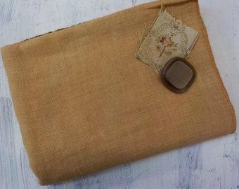 Weeks Dye Works, Cappuccino, 32ct, Fat Quarter, 100% linen, cross stitch linen
