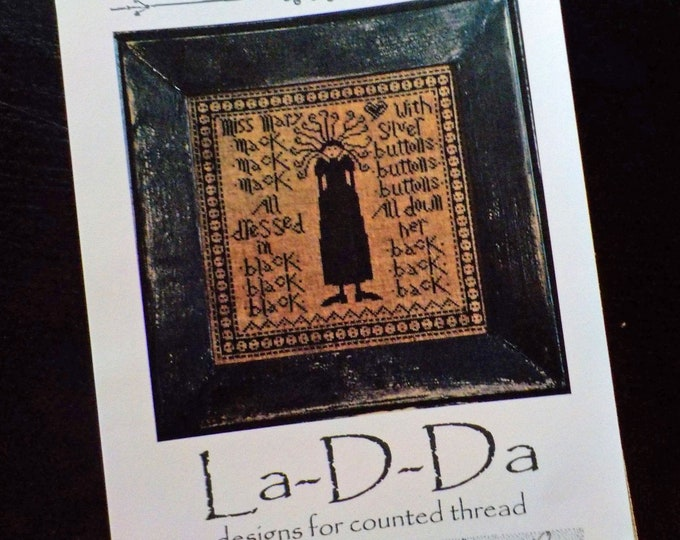 Miss Mary Mack by La-D-Da...cross stitch pattern