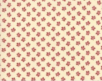 Sarah's Story 1830-1850, Cream Red 31597 12 fabric designed by Betsy Chutchian for Moda Fabrics