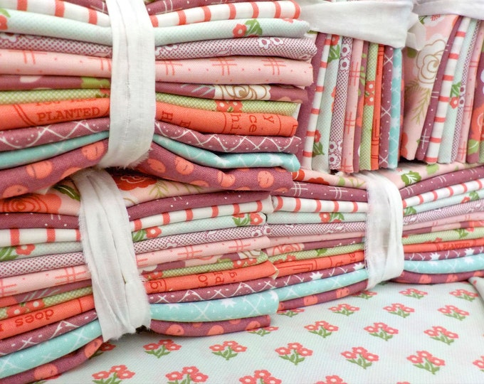 Lollipop Garden...12 fat quarter bundle...fabric designed by Lella Boutique for Moda Fabrics...exclusive bundle