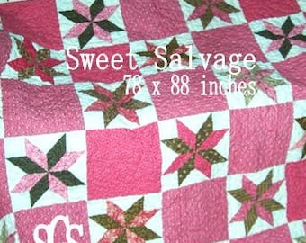 PDF Sweet Salvage pattern by Mickey Zimmer for Sweetwater Cotton Shoppe