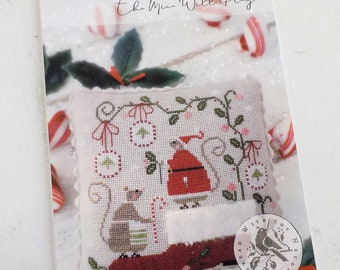 When Santa's Away the Mice Will Play by Brenda Gervais of With Thy Needle & Thread...cross-stitch design