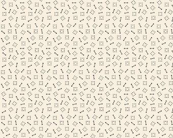 Delightful Dozen Cream Seven by Sheryl Johnson R3107-CREAM for Marcus Fabrics