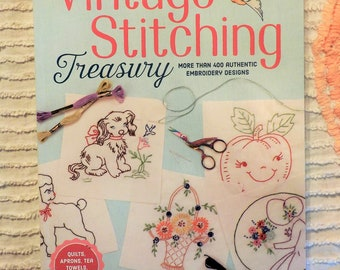 Vintage Stitching Treasure, more than 400 authentic embroidery designs, Suzanne McNeill for Design Originals